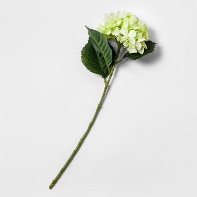 28  Artificial Hydrangea Flower Stem Green - Threshold™