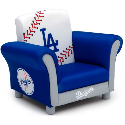 MLB Los Angeles Dodgers Kid's Upholstered Chair - Delta Children - image 1 of 5