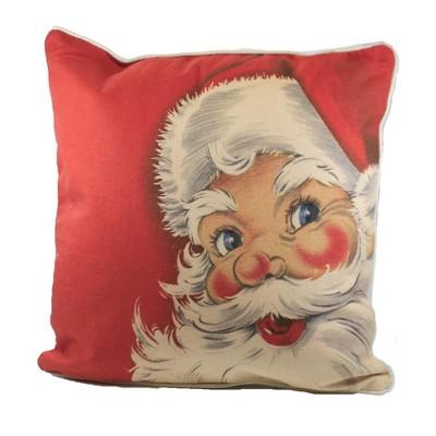 "Christmas 16.0"" Santa Pillow Small Home Decor  -  Decorative Pillow"