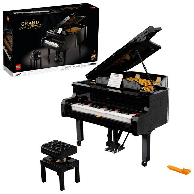 LEGO Ideas Grand Piano Creative Building Set for Adults, Build Your Own Playable Piano 21323