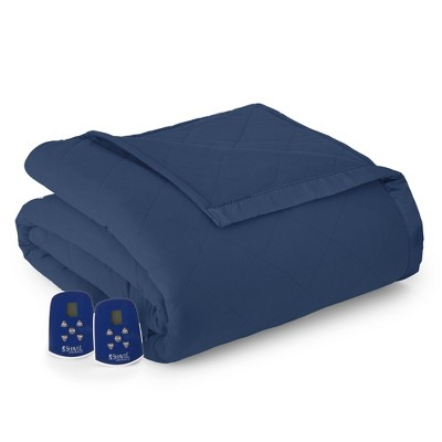 Shavel Micro Flannel High Quality Durable Heating Technology Luxuriously Soft & Warm Electric Blanket