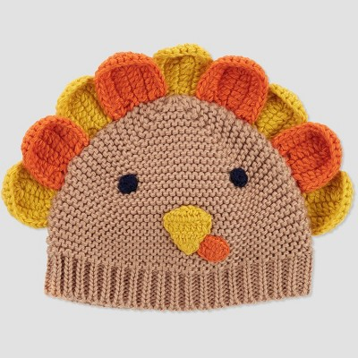 Baby Turkey Thanksgiving Hat - Just One You® made by carter's Brown