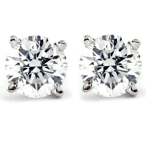 Pompeii3 1/3 Ct TDW Diamond Studs Available in 14k White or Yellow Gold - image 1 of 4