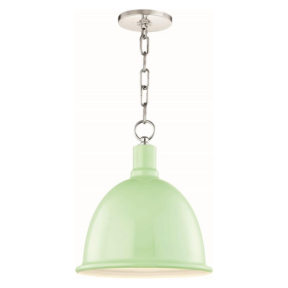1pc Blair Small Light Pendant Mint/ Mint Green - Mitzi by Hudson Valley