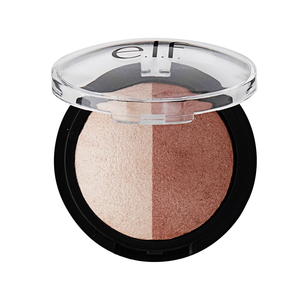 Image of e.l.f. Baked Highlighter & Bronzer Bronzed Glow - 0.17oz