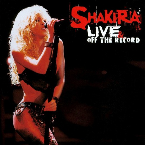 Shakira - Live & off record (CD) - image 1 of 1