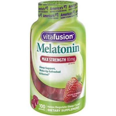 Sleep Aids: Vitafusion Melatonin Gummies Max Strength