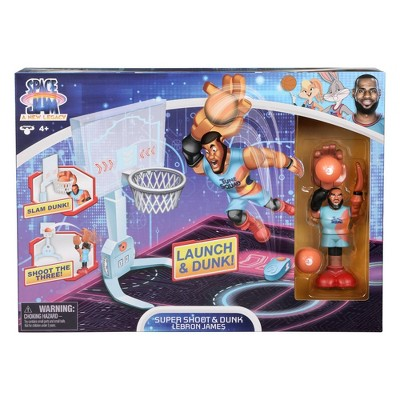 Space Jam: A New Legacy - Super Shoot & Dunk Playset with LeBron James Figure