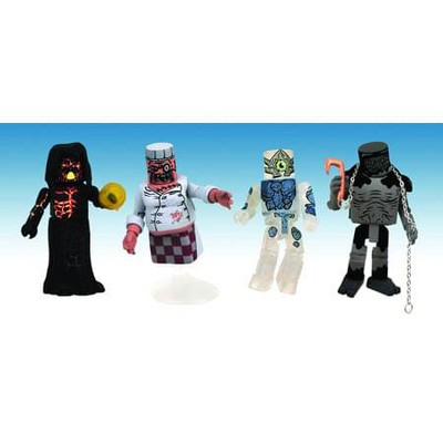Diamond Comic Distributors, Inc. Ghostbusters Ghost Set Minimates Exclusive