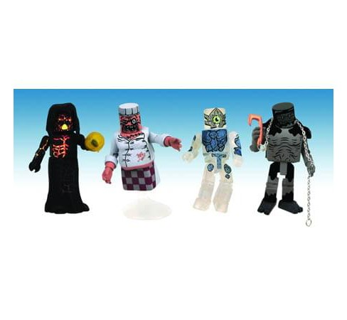 Ghostbusters Ghost Set Minimates Exclusive - image 1 of 1