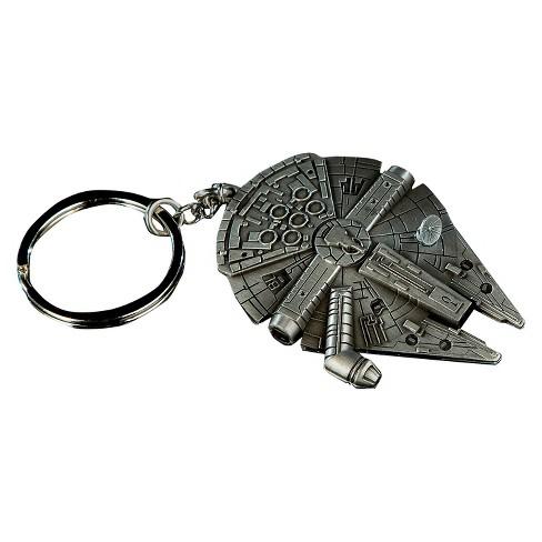 Quantum Mechanix Star Wars Millennium Falcon Replica Key Chain - image 1 of 4