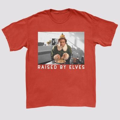 Men's Elf Short Sleeve Graphic T-Shirt - Red