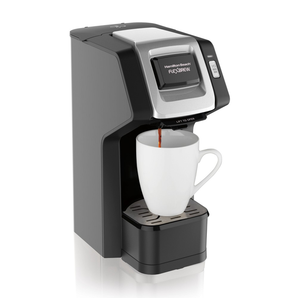 Hamilton Beach FlexBrew Single-Serve Coffee Maker – 49974, Black 53664159