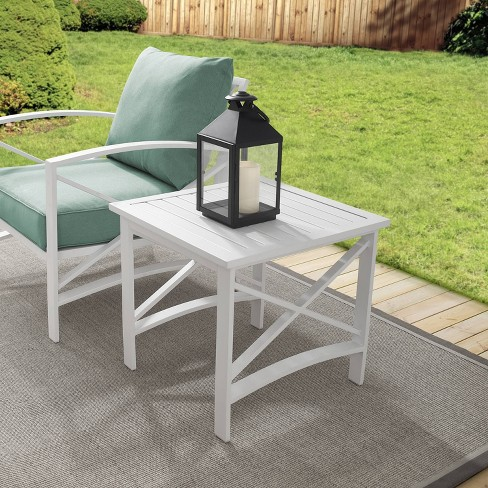 Kaplan Side Table - White - Crosley - image 1 of 4