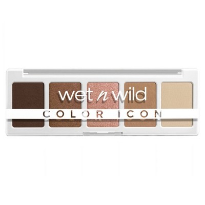 Wet n Wild Color Icon 5-Pan Eyeshadow Palette - 0.21oz