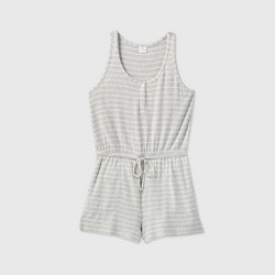 Women's Striped Perfectly Cozy Romper - Stars Above™