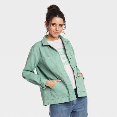 Women's Long Sleeve Chore Jacket - Universal Thread™