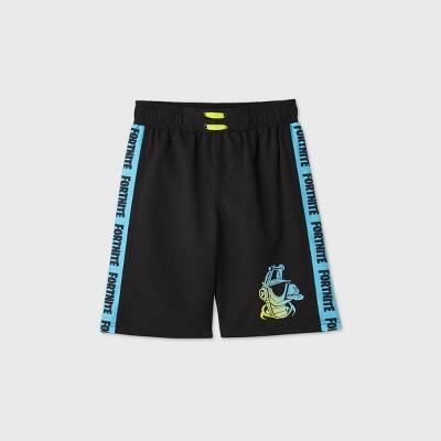 Boys' Fortnite Swim Trunks - Blue/Black