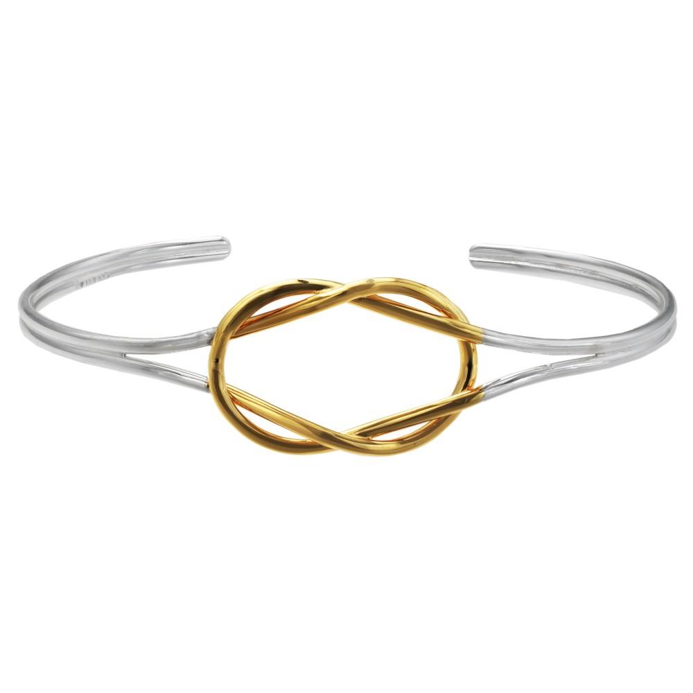 Target Women's Loveknot Cuff Bracelet in Sterling Silver ...