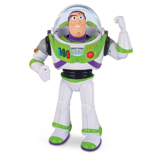 Disney Pixar Toy Story 4 Buzz Lightyear Talking Action Figure image number null