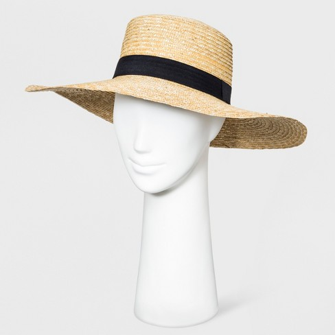 32cd5510577f3 Women's Floppy Hat - A New Day™ Cornhusk Black Band