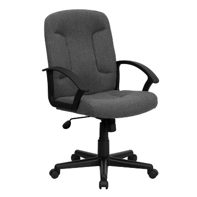 Executive Swivel Office Chair Gray - Flash Furniture