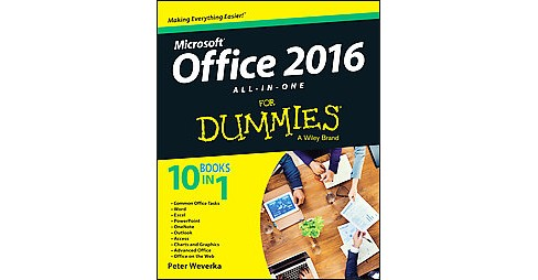 Office 2016 All-in-One for Dummies (Paperback) (Peter Weverka) - image 1 of 1
