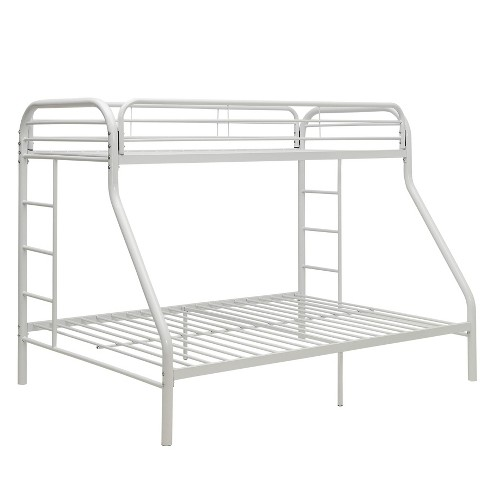 Twin Xl Over Queen Tritan Bunk Bed White - Acme - image 1 of 4