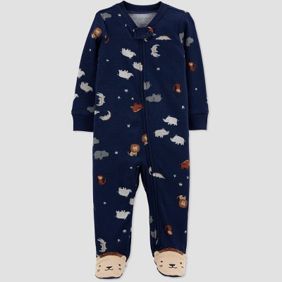 Baby Boys' Lion Sleep N' Play - Just One You® made by carter's Navy 3M