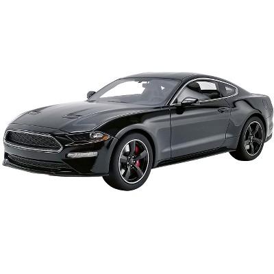 2019 Ford Mustang Bullitt Shadow Black 1/18 Model Car by GT Spirit for ACME