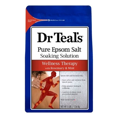 Dr Teal's Wellness Therapy Soaking Solution - 48oz