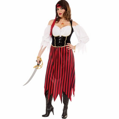 Forum Novelties Womens Pirate Maiden Plus Size Costume