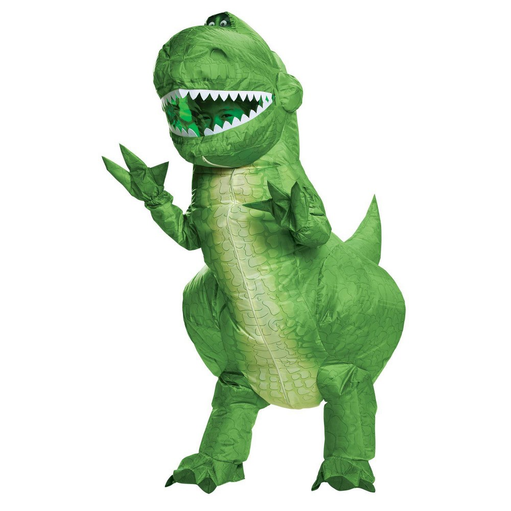 Kids 39 Rex Inflatable Halloween Costume One Size