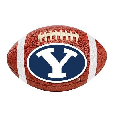 """NCAA 20.5""""x32.5"""" Football Rug BYU Cougars"""