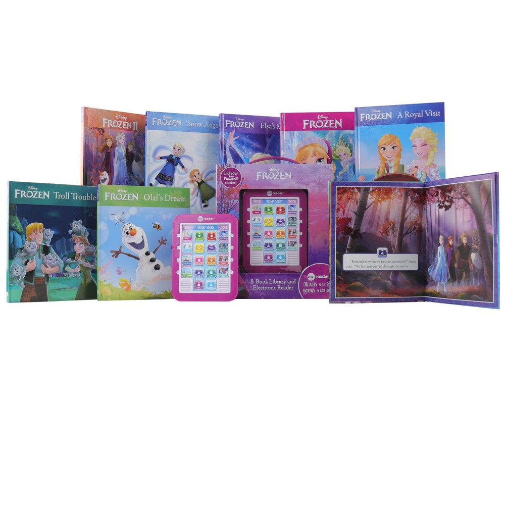 Pi Kids Frozen And Frozen Ii Electronic Me Reader And 8 Book Library Boxed Set