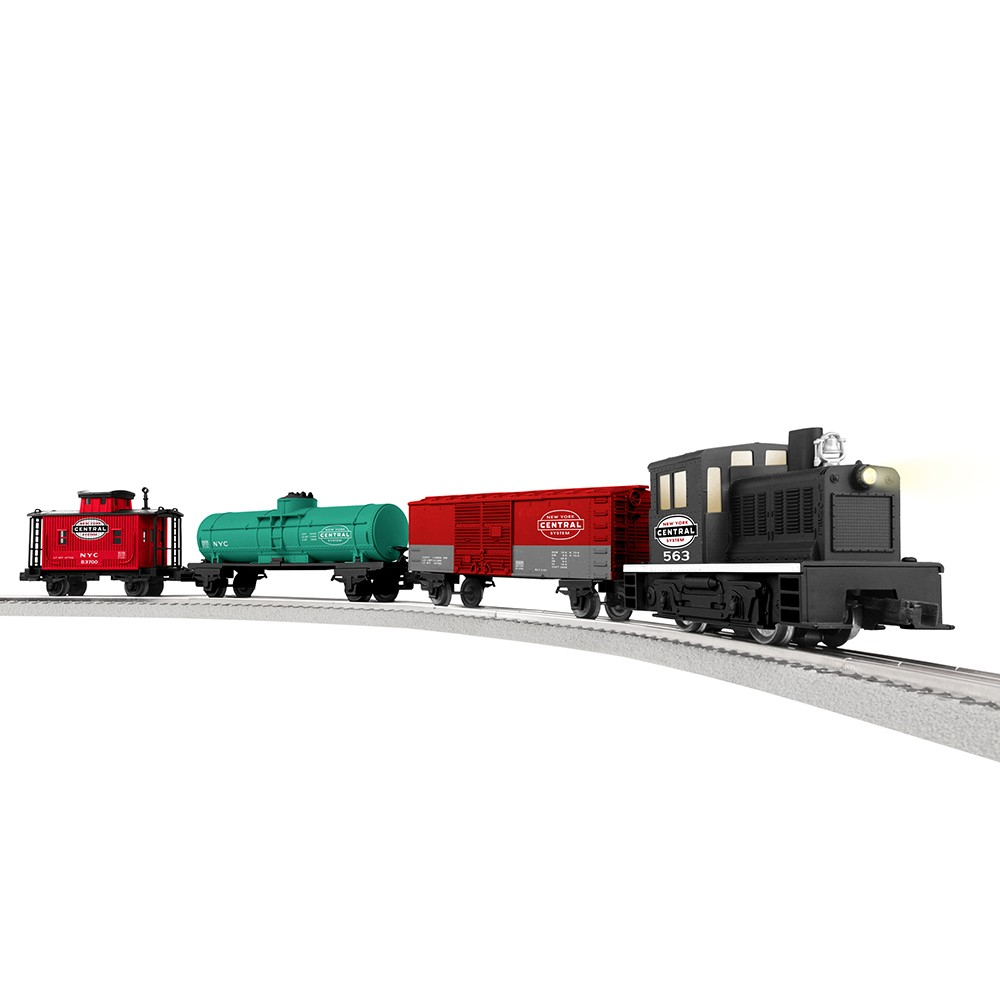 Blue Hat North Pole Junction Christmas Train Set -34 piece from ...