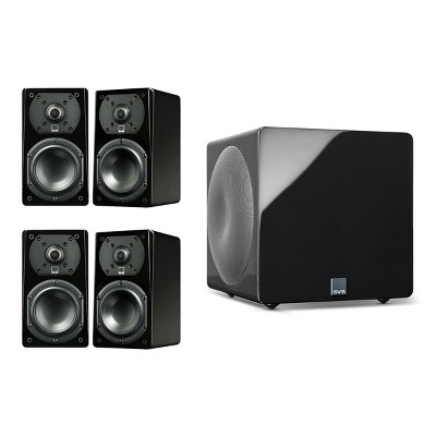 SVS Prime Satellite 4.1 Speaker Package with 3000 Micro Subwoofer (Piano Black)
