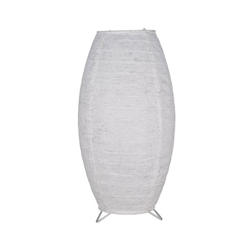 Paper Table Lamp Gray (Includes Energy Efficient Light Bulb) - Room Essentials™ - image 1 of 3