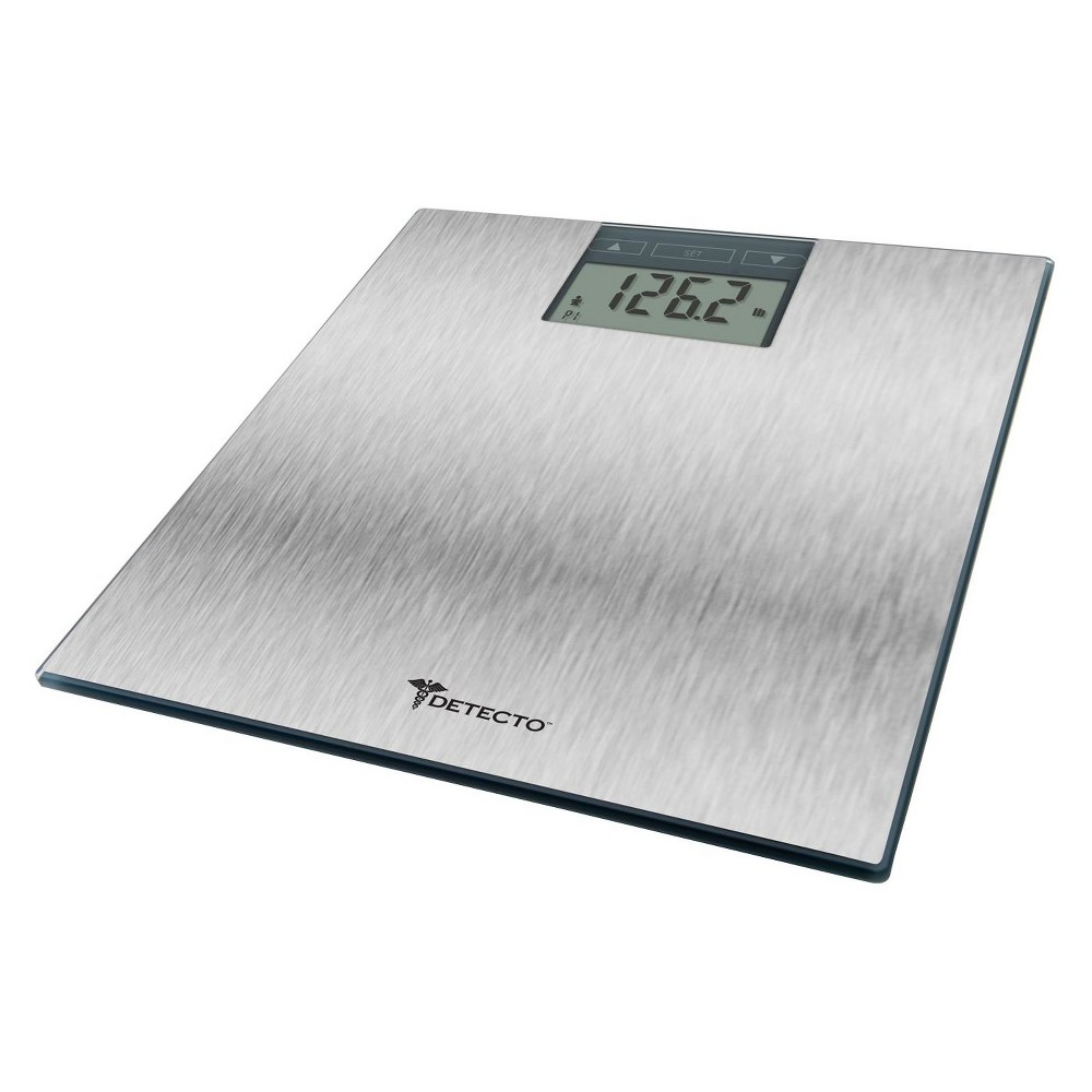Stainless Steel Digital Personal Scale Silver - Detecto