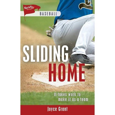 Sliding Home - (Lorimer Sports Stories) by  Joyce Grant (Hardcover) - image 1 of 1