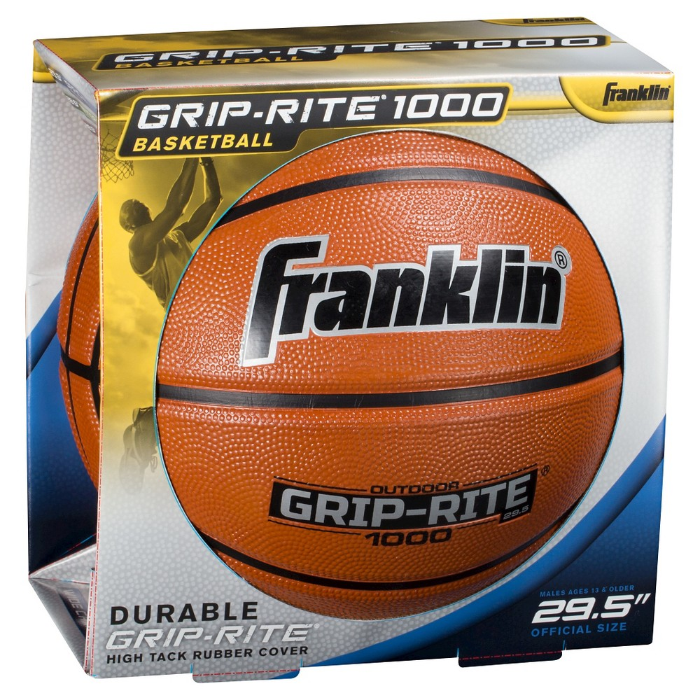 Franklin Sports Grip Rite 1000 29 5 Official Basketball