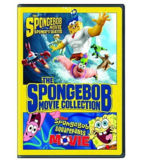 Spongebob Squarepants Movie Collection (DVD) - image 1 of 1
