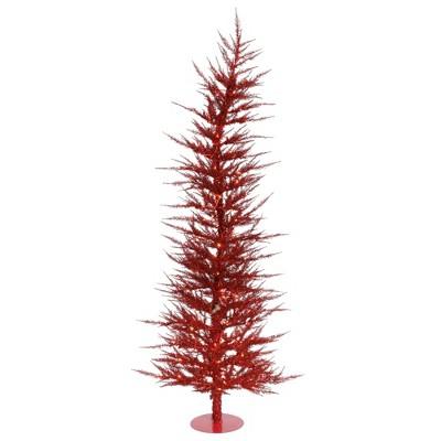 Vickerman Red Laser Artificial Christmas Tree