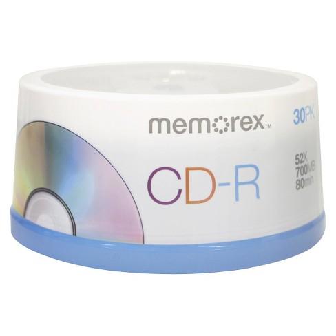 Memorex CD-R Spindle Disc Pack - 30 PK - image 1 of 3