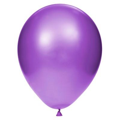 15ct Amethyst Latex Balloons Purple
