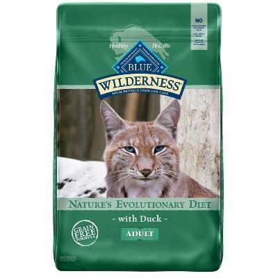 Blue Buffalo Wilderness Grain Free Duck Adult Premium Dry Cat Food