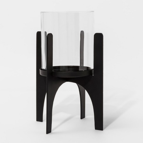 Hurricane Candle Holder - Black - Project 62™ - image 1 of 2