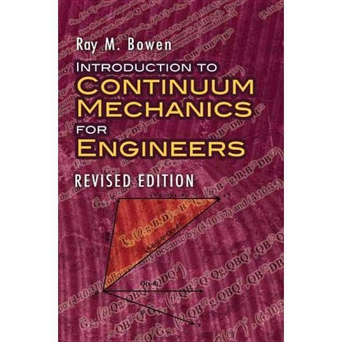 Introduction to Continuum Mechanics for Engineers - (Dover Civil and Mechanical Engineering) (Paperback) - image 1 of 1