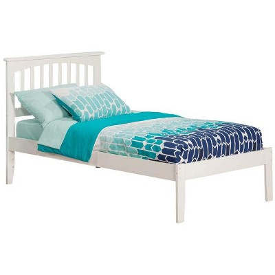 Mission Twin XL Open Foot White - Atlantic Furniture