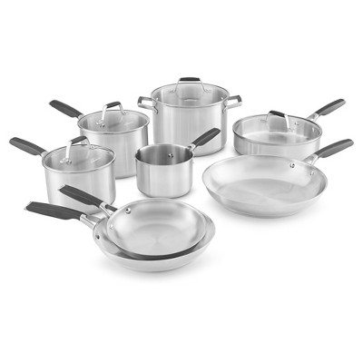 Select by Calphalon™ 12 Piece Stainless Steel Cookware Set